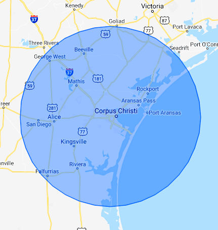 service-area-in-south-eastern-tx